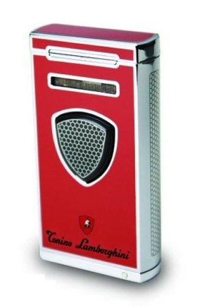 Lamborghini lighter 'Pergusa' red
