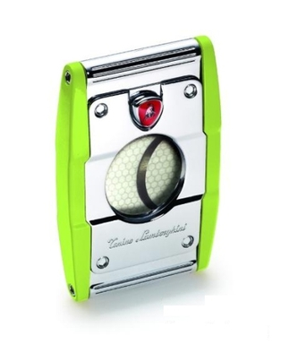 Lamborghini double blade cutter 'Precisione' green