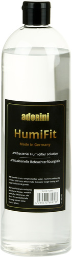 Adorini HumiFit - Luchtbevochtiger Soloution 1l / 33,8 oz- Premium Humidor gedestilleerd water